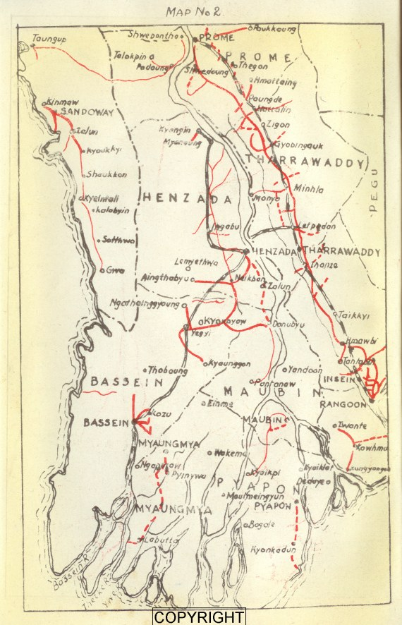 Maps Of Burma - Burma map