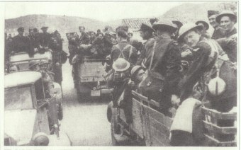 Sam Bessey evacuation from Greece
