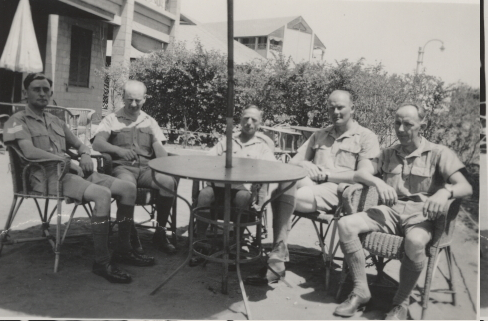 113 Squadron Sgts at Heliopolis 1938 or 1939 SOURCE/COPYRIGHT: John Allen, son of F/Sgt (W/O) Dick Allen